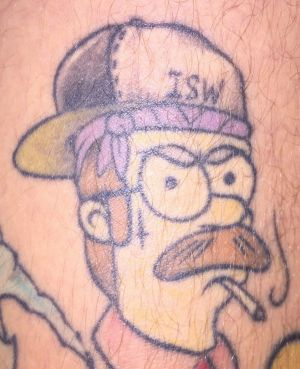 Ned Flanders never quite looked like this in the series.
