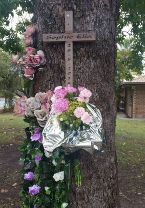 """Instead of celebrating Sophie's first birthday we had to hold a memorial."""