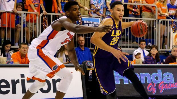 Heading for the big time: Ben Simmons.