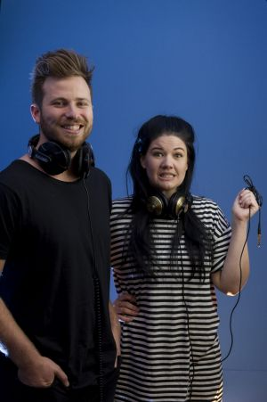 New 104.7 breakfast presenters Ryan Jon and Tanya Hennessy say they are blown away by how cool Canberra is.