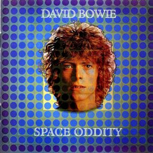 The album cover for Space Oddity.