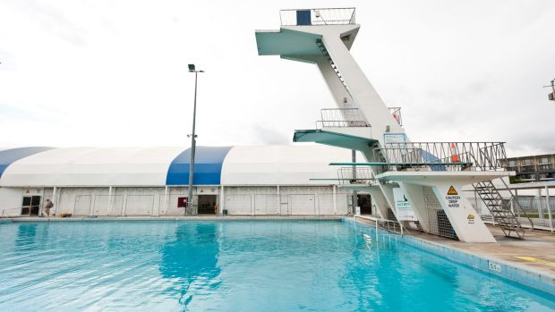 Civic Pool was constructed in the lead up to the 1956 Melbourne Olympic Games.