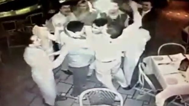 These restaurant workers had a wonderful surprise - and then a gut-wrenching realisation - when they mistakenly thought ...