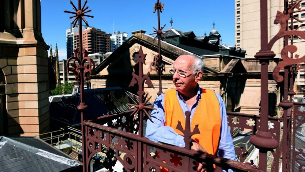"""""""I don't want [people] to come back and say 'what have you done?'"""" says heritage architect Peter McKenzie."""