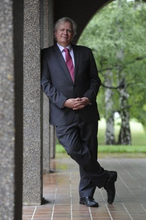 Newly appointed vice-chancellor of the Australian National University, professor Brian Schmidt.