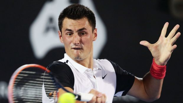 Bernard Tomic in Sydney.