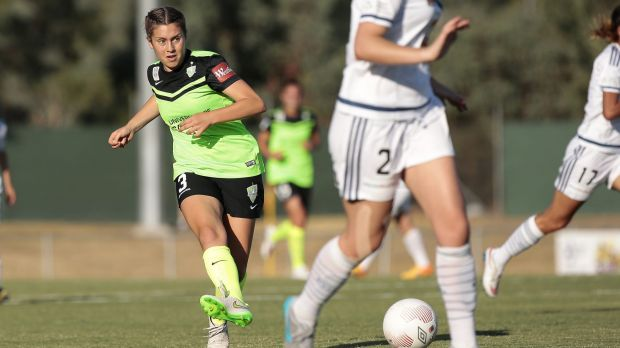 Canberra United midfielder Julia De Angelis is eager to make the most of her opportunity.