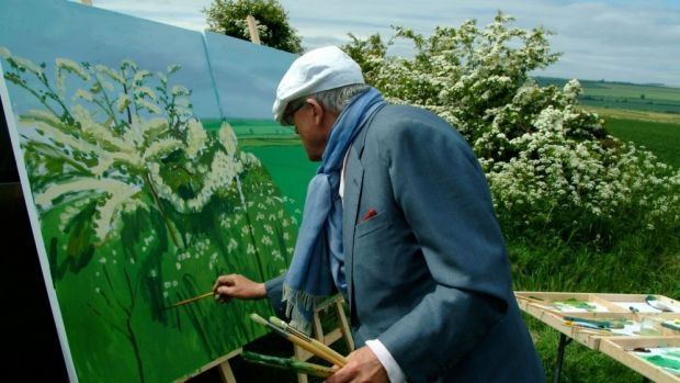 Randall Wright presents an affectionate documentary portrait of the artist in <i>Hockney: A life in pictures</i>.