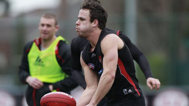Former Essendon footballer Sam Lonergan.