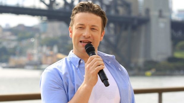 Jamie Oliver, pictured during a 2015 visit to Sydney, has angered paella purists.