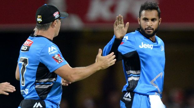 Adil Rashid (right) has played a major role in the Strikers' success thus far.