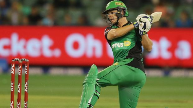 Evan Gulbis, one of three Stars batsman to enter dlouble figures, top-scored with an unbeaten 61.