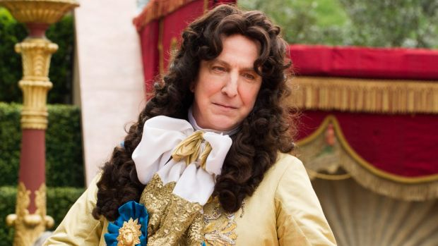 Alan Rickman at his satirical best in <I>A Little Chaos</i>.