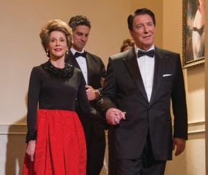 With Jane Fonda as Nancy and Ronald Reagan in Lee Daniels' The Butler.
