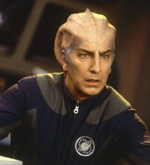 As Doctor Lazarus in Galaxy Quest.