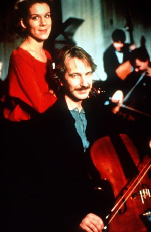 Alan Rickman, with Juliet Stevenson, showed his range in the much-loved Truly Madly Deeply (1990).
