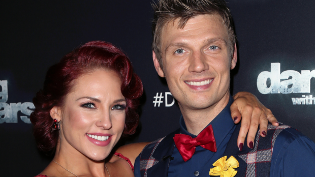 Singer Nick Carter came second on the US version of Dancing with the Stars.