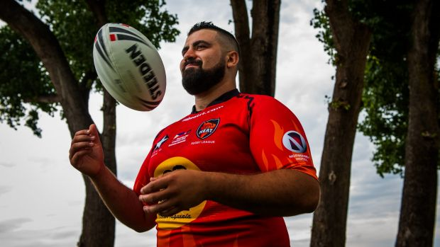 Eddie Wegener will play for the Latin Heat rugby league team against Thailand on Saturday night.