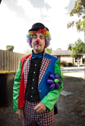 Dan Stewart aka Twisty the Clown says bookings are declining.