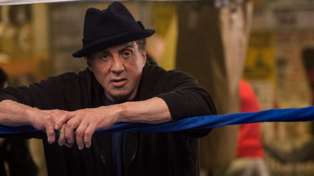 Sylvester Stallone as Rocky Balboa in the film <i>Creed</i>.