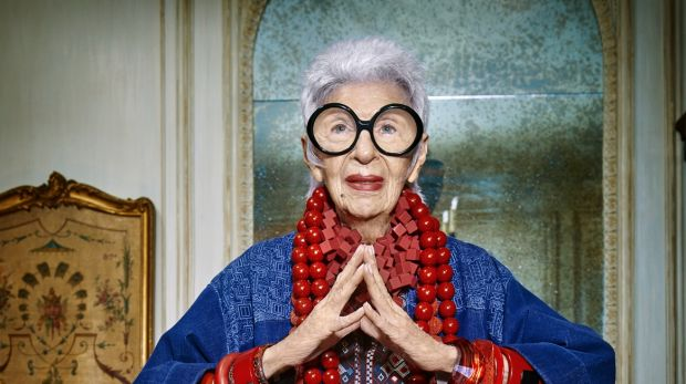 The 94-year-old American style icon Iris Apfel was recently signed to front Australian fashion brand Blue Illusion's ...
