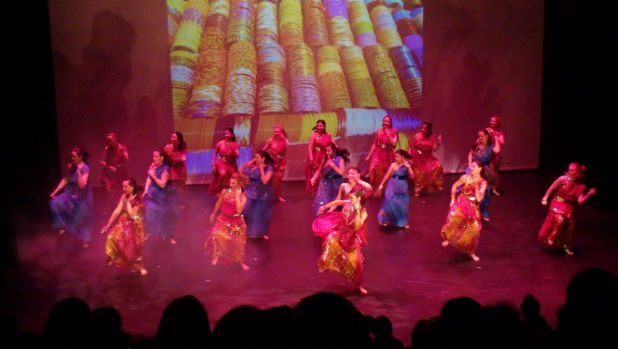 A performance by  Canberra School of Bollywood Dancing.