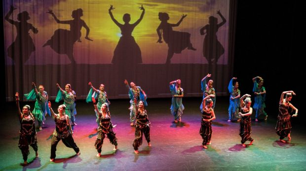 Ticket to India performance by  Canberra School of Bollywood Dancing.
