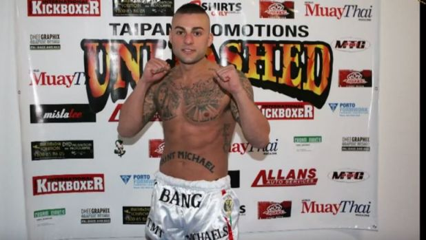 Antonio Bagnato fought under the name Tony Bang in 2012 before leaving the country for Thailand.