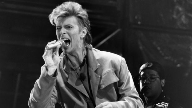David Bowie performs in 1987, the year John Elder decided to tell the musical icon how to get his groove back.