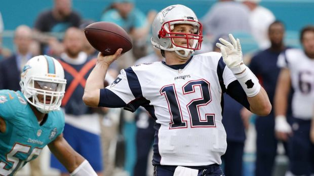 Big favourites: Tom Brady and the Patriots should be able to get past a depleted Chiefs.