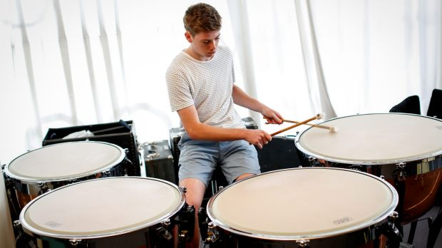 Brandon Waterworth has been accepted into the Melbourne University music course.