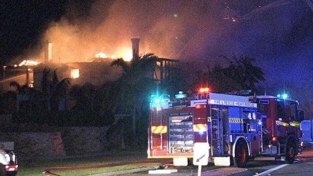 The Mosman fire that caused $6 million damage.