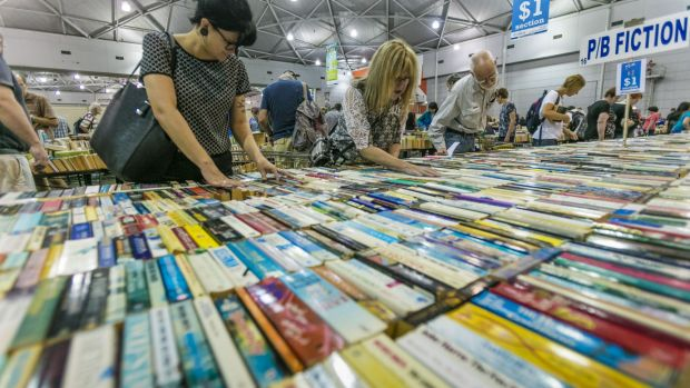 Readers flocked to the 2016 Lifeline Bookfest that opened on Saturday and runs until January 26.