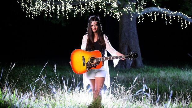 Country music singer Missy Lancaster asked her mum for a guitar when she was 13 years old and has not let it go since.