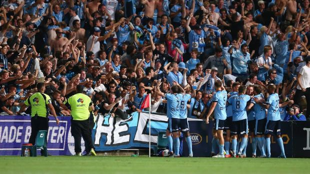 One to remember: Shane Smeltz laps up the appreciation after scoring the winning goal.