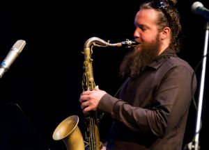 Zac Hurren performed with Julien Wilson in a tribute to the late David Ades.