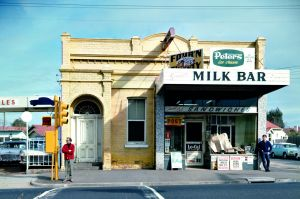 Angus O'Callaghan, Milk Bar, cnr Roseberrry Street and Nepean Highway, 1969