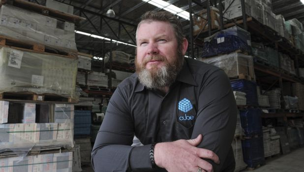 Proprietor of Fyshwick-based, Cube furniture, Chris DeVoy, has had an extended legal battle with major builder Joss ...