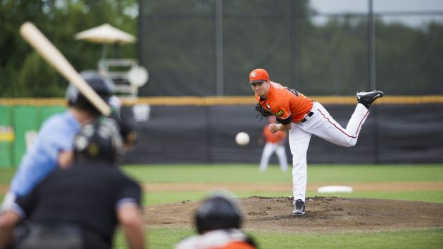 Cavalry starter Scott Cone pitched a complete game shutout against Sydney on Sunday.