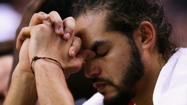 Lengthy layoff: Joakim Noah will be sidelined for the rest of the season.