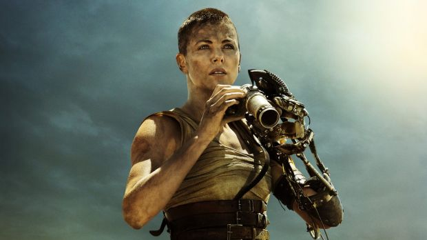 Charlize Theron in <i>Mad Max: Fury Road</i>.