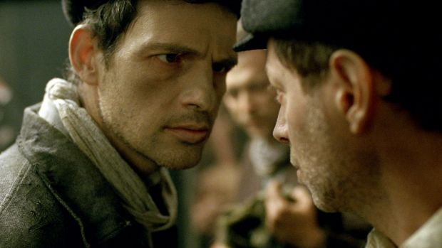 "Geza Rohrig in a scene from ""Son of Saul""."