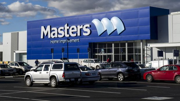 Masters opened in 2012 with 150 staff in Canberra. The chain employed 7000 nationally.