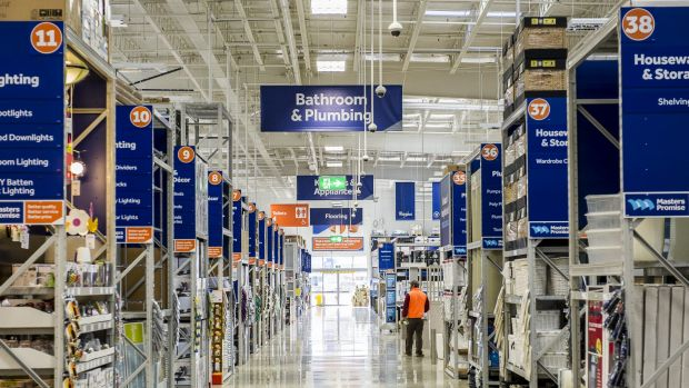 Lowe's serves about 16 million customers a week in North America, but failed to replicate that success with Masters.