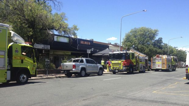 A small electrical fire broke out at Club Lime in Kingston.