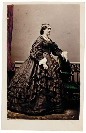 Sideshow Alley: Lucy Escott, (early 1860s) by Dalton's Royal Photographic Gallery.
