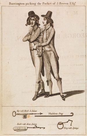 Sideshow Alley: The Memoirs of George Barrington, 1790, by Unkown, J. Bird & Simmonds.