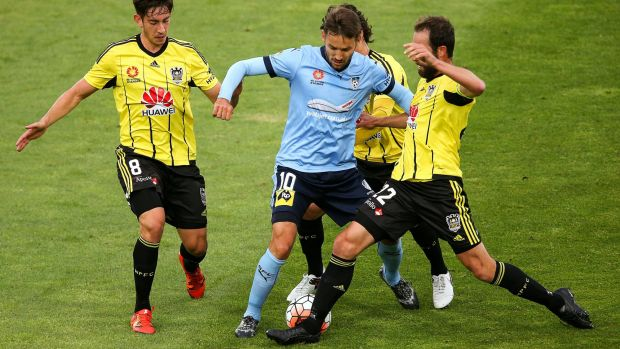 Glad to have them: Sydney FC chairman Scott Barlow is glad the Wellington Phoenix wil remain in the A-League.