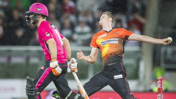 Perth Scorchers fast bowler Jason Behrendorff will be sidelined for four months after the BBL finals.