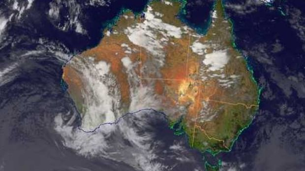 Western Australia is bracing for summer storms, with residents in the regions told to take shelter.